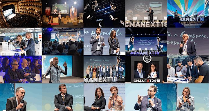 Immagine CNA Next 2019 - NO LIMITS Le imprese dei giovani.