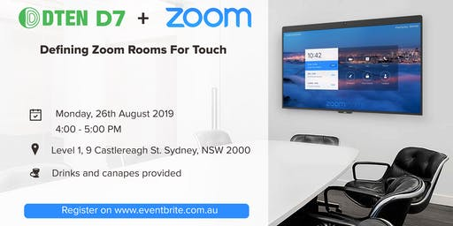 DTEN D7 - Defining Zoom Rooms For Touch