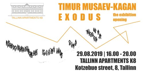 Timur Musaev-Kagan. EXODUS. The exhibition opening.