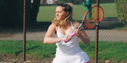 Cardio Tennis and Q & A with Sabrina Stocker-31st August