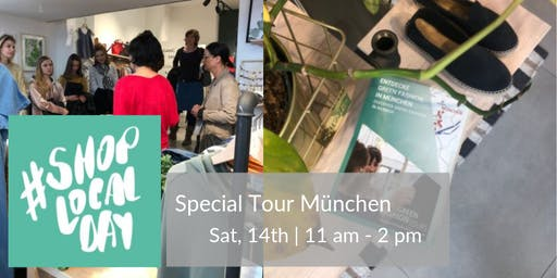 Special Green Fashion SHOP LOCAL DAY Tour München