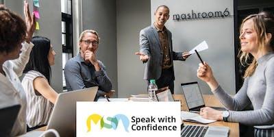Speak with Confidence - Warrington
