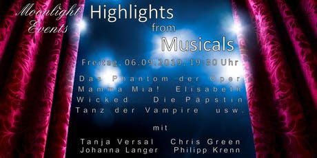Highlights from Musicals Tickets