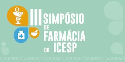 III Simpósio de Farmácia do Icesp