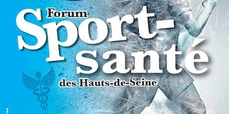 Forum Sport Santé des Hauts-de-Seine 2019 billets