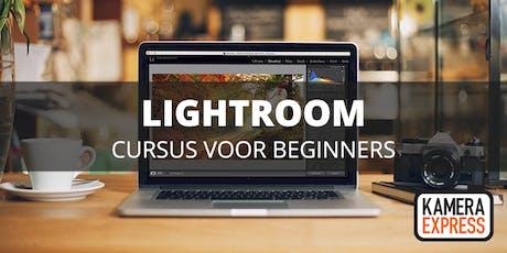 Cursus Lightroom voor beginners tickets