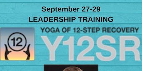 Y12SR-Yoga of 12 Step Recovery Leadership Training entradas