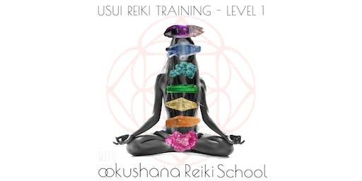 Group Training Usui Reiki Level 1