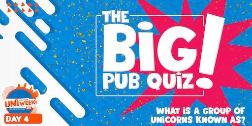 UNIweek Day 4: The Big Pub Quiz