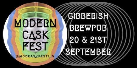 Modern Cask Fest Liverpool tickets