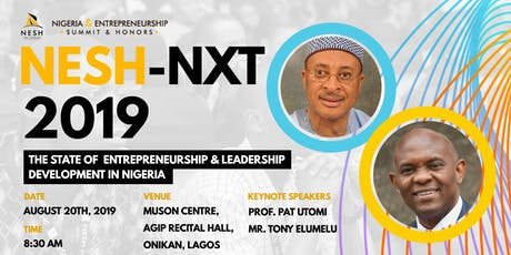 NESH-NXT Annual Conference for Young Entrepreneurs 2019 tickets