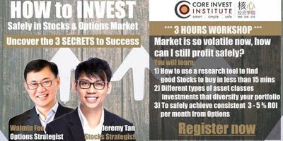 How To Invest Workshop Kuala Lumpur