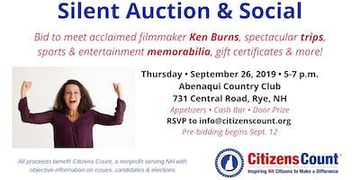 Citizens Count Silent Auction & Social