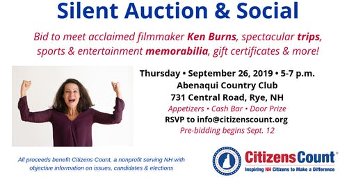 Citizens Count Silent Auction & Social