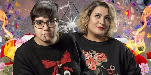 Bimbo y Noelia Custodio en Barcelona