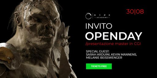 OPENDAY MASTER in CGI - 30 Agosto