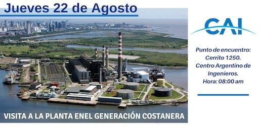 Visita a la Planta ENEL Generación Costanera