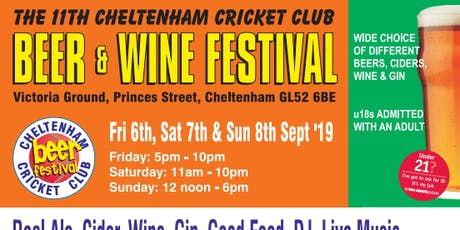 Cheltenham Cricket Club - Beer and Wine Festival tickets