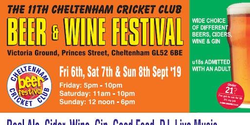 Cheltenham Cricket Club - Beer and Wine Festival