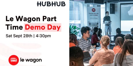 Le Wagon Part Time Demo Day - Batch #241 tickets