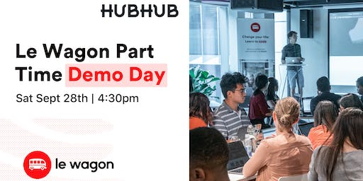 Le Wagon Part Time Demo Day - Batch #241