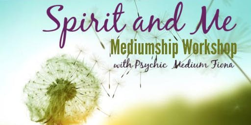 Advancing your Mediumship Workshop