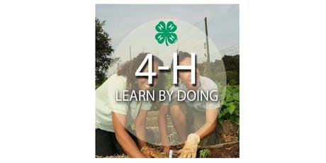4-H: Learn by Doing and a Little Bit More tickets