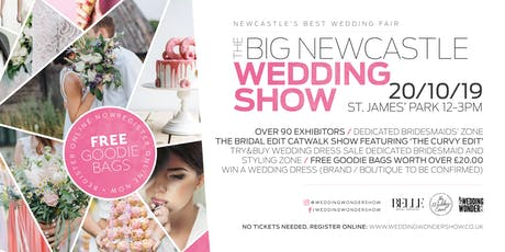 The BIG Newcastle Wedding Show tickets