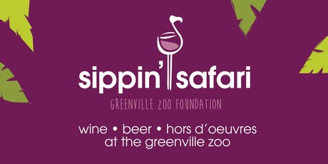 Sippin' Safari 2019 tickets