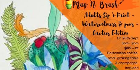 Watercolour & Pen's: Cactus Edition tickets