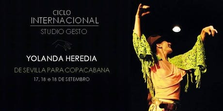 Ciclo Internacional Studio Gesto 2019 - Yolanda Heredia ingressos
