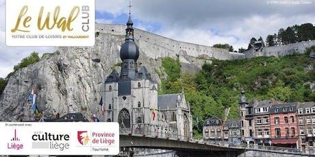 Dinant & croisière Dinant-Freyr avec château - Préinscription  billets
