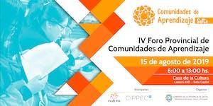 IV Foro Provincial de Comunidades de Aprendizaje -...