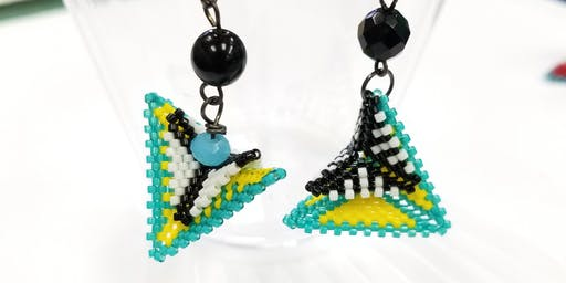 Warped Square - Geometric Beadwork Series #2
