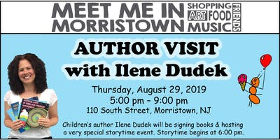 Author Visit with Ilene Dudek at Meet Me in Morristown 2019