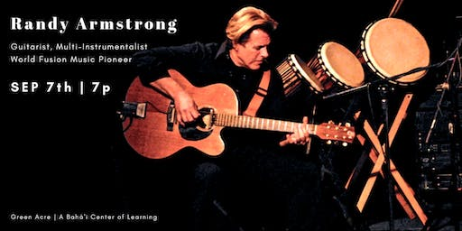 "ART SHOW & Concert by Randy Armstrong – ""Inherited Beauty"""