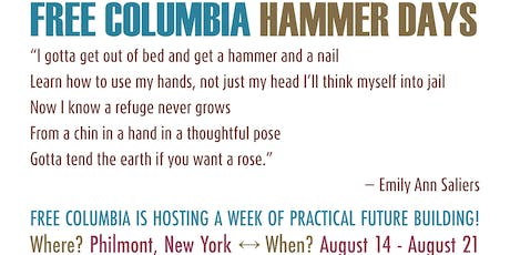 Free Columbia Hammer Days! tickets