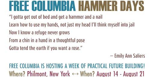 Free Columbia Hammer Days!