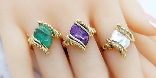 Rock-n-Wrap Bead Ring - Jewelry Making
