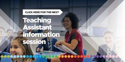 Teaching Assistants - Information Session (starting September 2020)