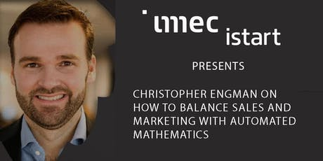 Imec.istart invites: ' Automated Marketing Resource Allocation' tickets