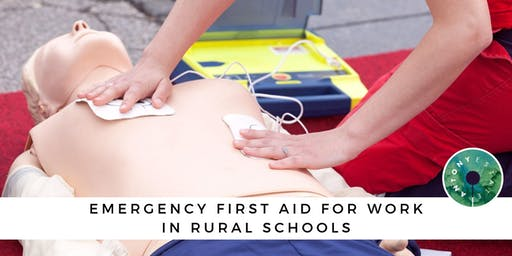 Emergency First Aid for Work in Rural Schools - October