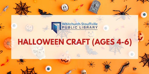 Halloween Craft (ages 4-6)