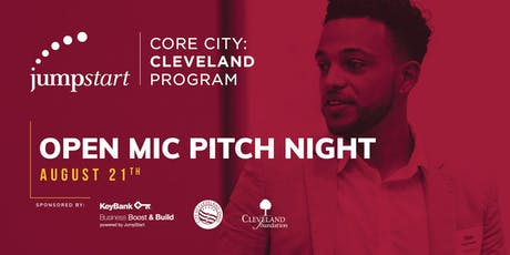 Core City:Cleveland Open Mic Pitch Night tickets