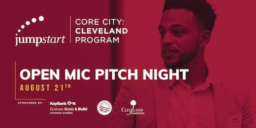 Core City:Cleveland Open Mic Pitch Night