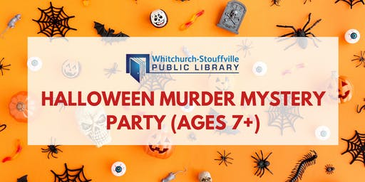 Halloween Murder Mystery Party (ages 7+)