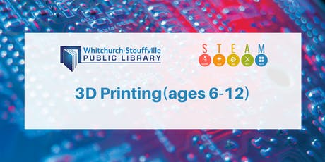 3D Printing (ages 9-12) tickets
