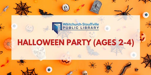 Halloween Party (ages 2-4)
