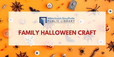 Family Halloween Craft tickets