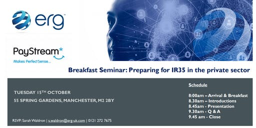 Breakfast Seminar: Preparing for IR35 in the private sector